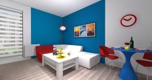 Mieszkanie pokazowe OPTIMA Targówek pokój002