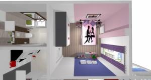 Mieszkanie pokazowe OPTIMA Targówek sypialnia007