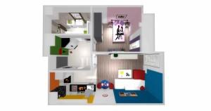 Mieszkanie pokazowe OPTIMA Targówek mieszkanie