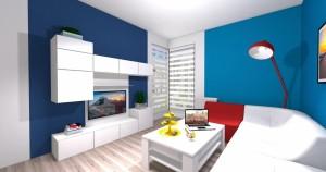 Mieszkanie pokazowe OPTIMA Targówek pokój001