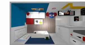 Mieszkanie pokazowe OPTIMA Targówek pokój005