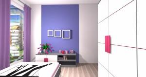 Mieszkanie pokazowe OPTIMA Targówek sypialnia003